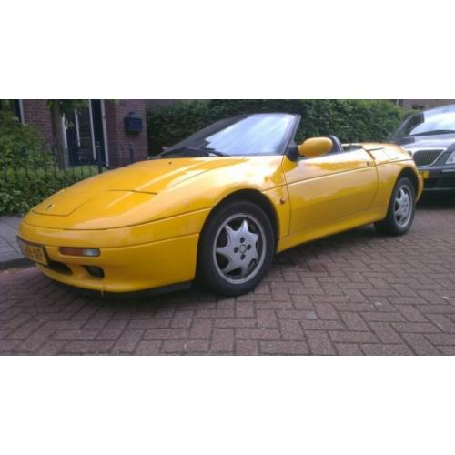 2 x Lotus Elan 1.6 SE Turbo U9 1991 Geel en1994 wit