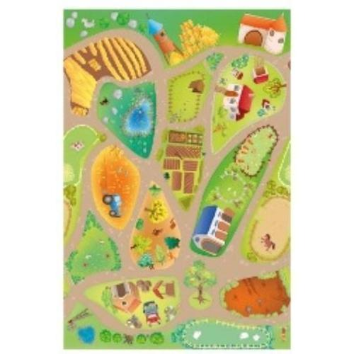 House of Kids Speelkleed Farm 150 x 100 cm (Kinderkamer)