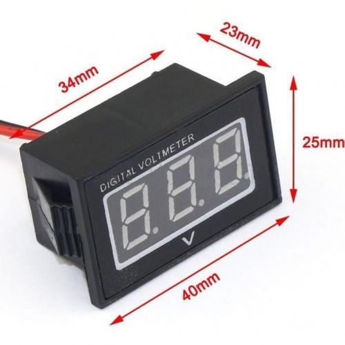 Voltmeter Shockproof Waterdicht