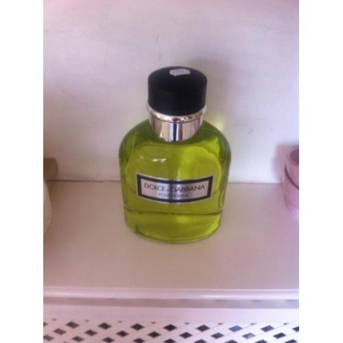 Extra grote DOLCE&GABANNA Homme fles