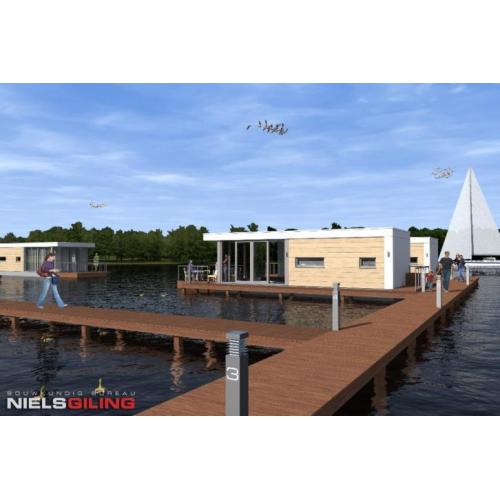 AQUALIVING,Start verkoop recreatie ark aan Westeinderplassen