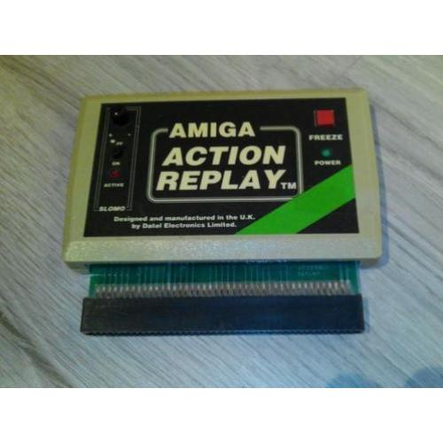 Action Replay Voor De Commodore Amiga 500 / 1000