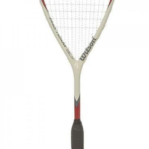 Wilson Pro Team Red/White Squash Racket Rood/Wit 1 Maat