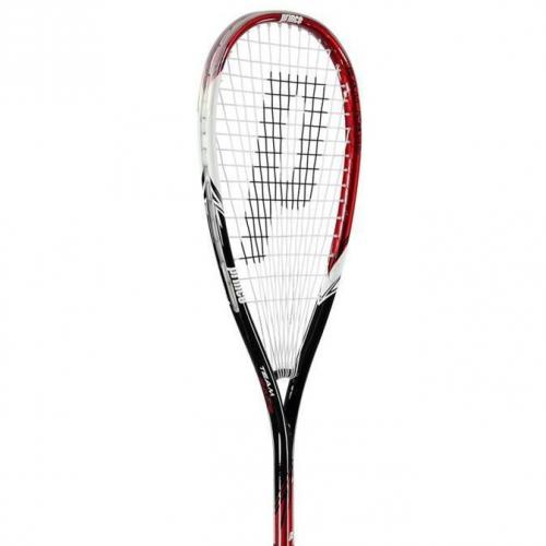 Prince Squash Team White/Red Rage 350 Wit/Rood 1 Maat