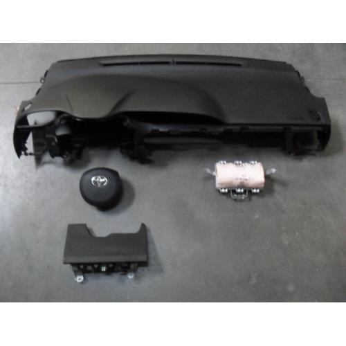 complete airbag set Toyota Yaris model 2012-2016