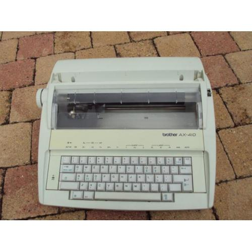 Typemachine Brother AX-410