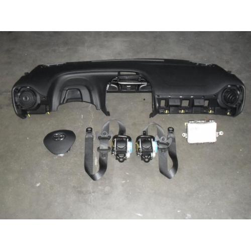 Complete airbag set Toyota Aygo model 2014-2016