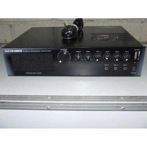 DAP PA-100 100V Public address amplifier 100W