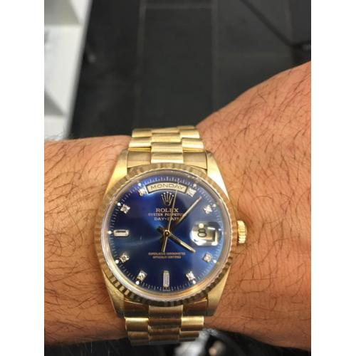 Day Date Rolex double quick set