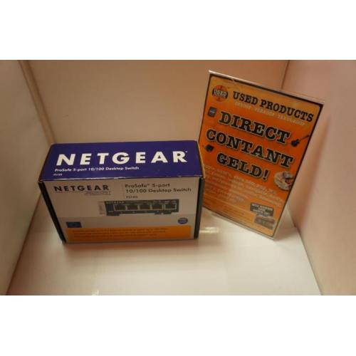 Netgear FS105 Prosafe 5-port Switch | Nieuw in doos
