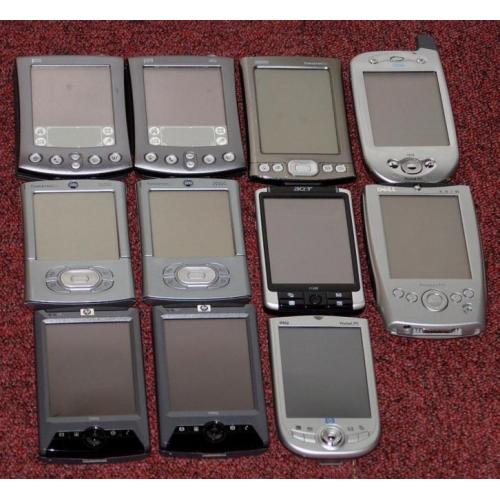 11 pocket pc's