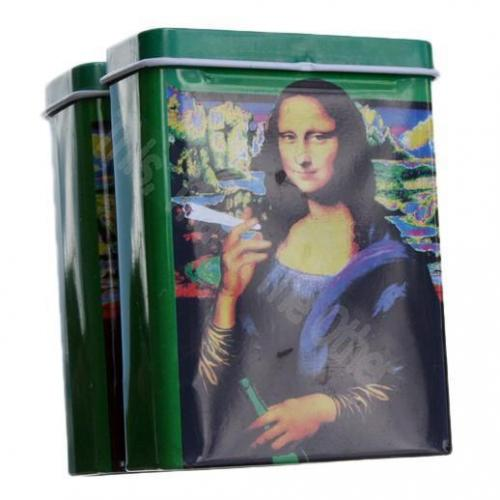 Sigarettenblikje Mona Lisa Smoking a Joint