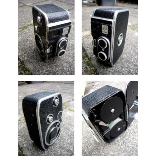 diverse 8mm film camera's Bolex Paillard uitgebreide sets -