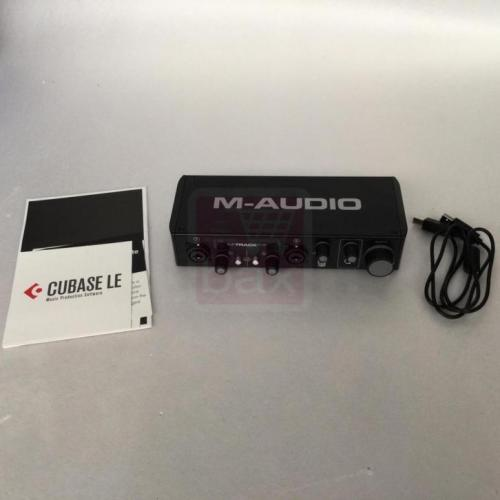 (B-stock) M-Audio M-Track Plus MKII USB geluidskaart v3