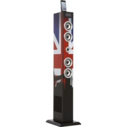 Bigben Multi Media Bluetooth Sound Tower - UK Flag Tower