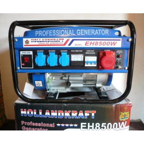 Generator met KEYstart HOLLANDKRAFT, oliebeveiliging