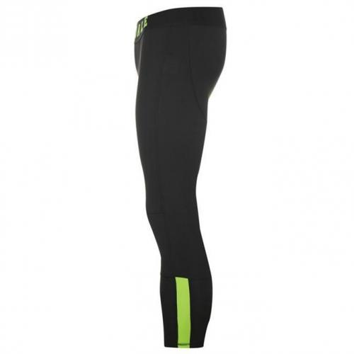 Lonsdale Training Compression Majo Heren Zwart S M L XL 2XL