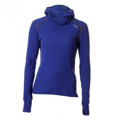 Odlo Thermal Shirt Dames Dem Blauw 42