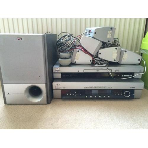 JVC home cinema set