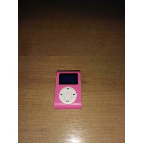 Roze mini mp3