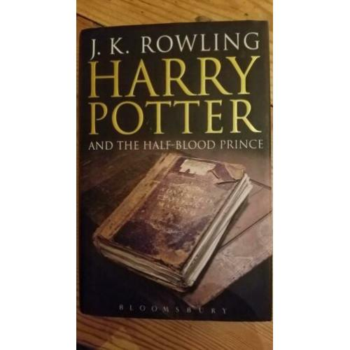 Harry Potter and the halfblood prince first ed.2005 misprint