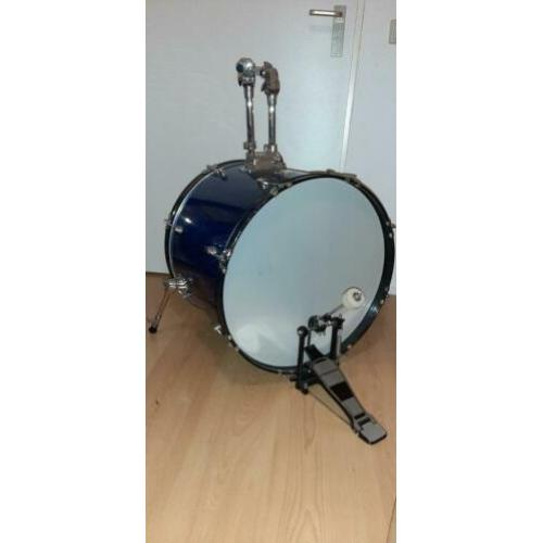 Steinfort drumstel (bass,snare,floortom,hightom)