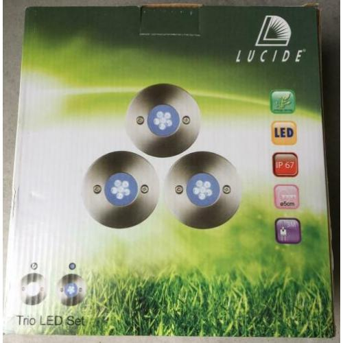 Lucide Trio LED set