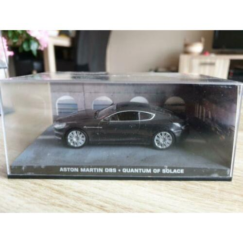 Nr.58 Aston Martin DBS James Bond Diorama 1:43 ( UH)