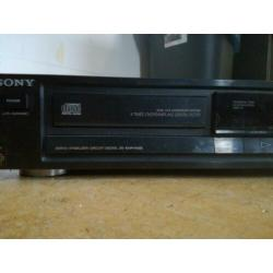 Sony compact disc player cdp-270