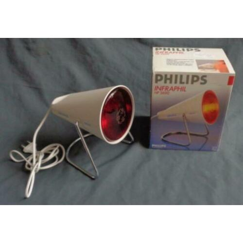 PHILIPS INFRAPHIL HP3690 infrarood rode lamp warmtelamp infr