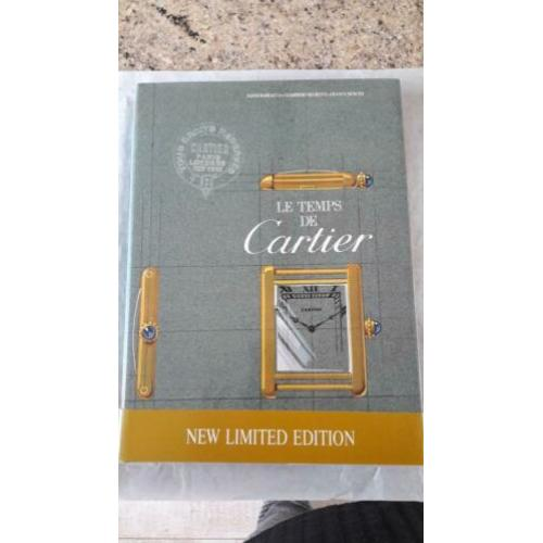 Cartier boek. limited edition.