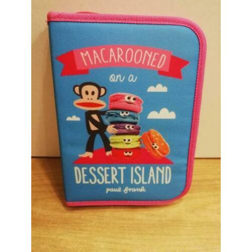 Paul frank gevuld etui-macarooned on a dessert island