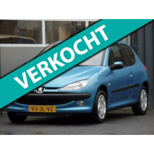Peugeot 206 1.4 Gentry Automaat Airco 51.504km!