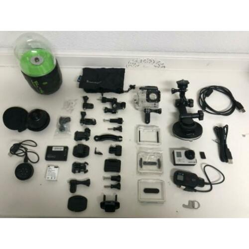Combinatie set Go pro Hero 3 black + 360 Fly Camera