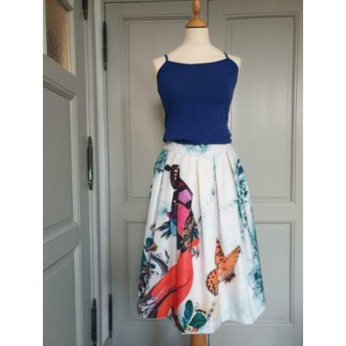 Essentiel rok met fantasieprint