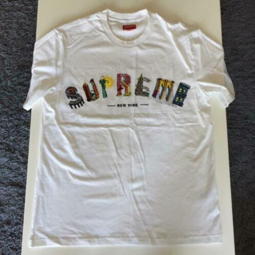 Supreme city arc white tee witte 19SS t shirt t-shirt M