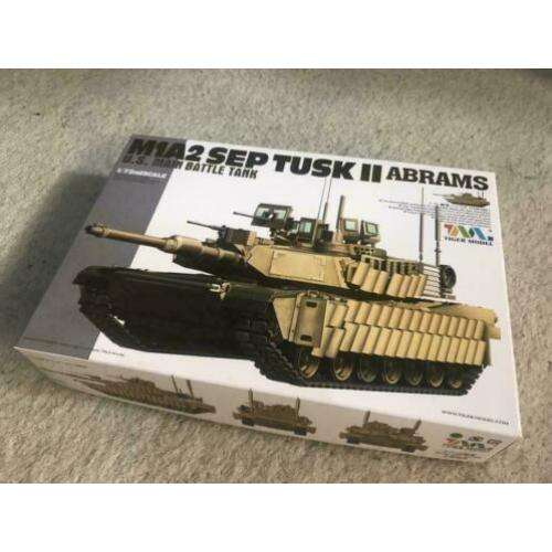 Tiger Model M1A2SEP TUSK II ABRAMS 1/72
