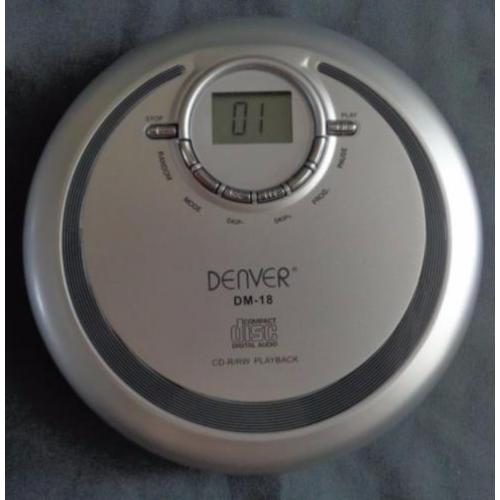 DENVER DM-18 WALKMAN DISCMAN draagbare CD speler portable pl