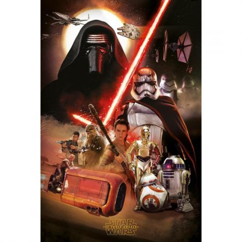 Disney Star Wars poster Disney Woonaccessoires